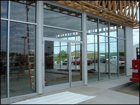 Insulating Door Curtain by Storefronts Window Amp Glass Repair Glass Builders Com