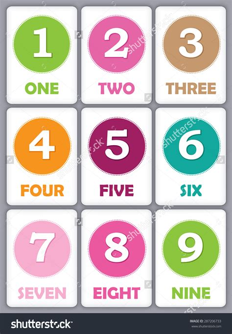 kindergarten printable numbers flashcards worksheet number flash cards printable debnamcareyweb