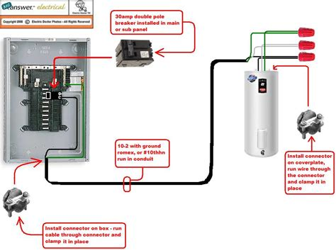 wiring diagram for 40 gallon richmond water heater 50