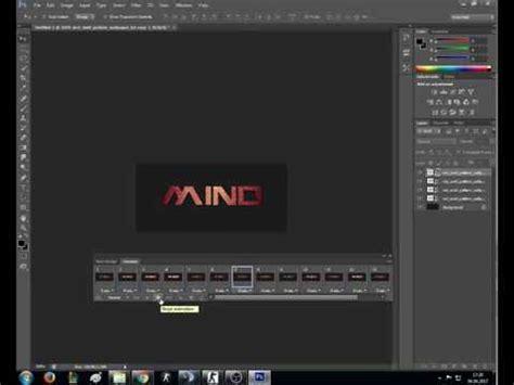 adobe photoshop cs6 tutorial animation adobe photoshop cs6 animated text tutorial youtube