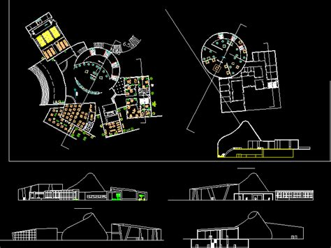 Museum Floor Plan Dwg by Planospara Author At Planos De Casas Planos De