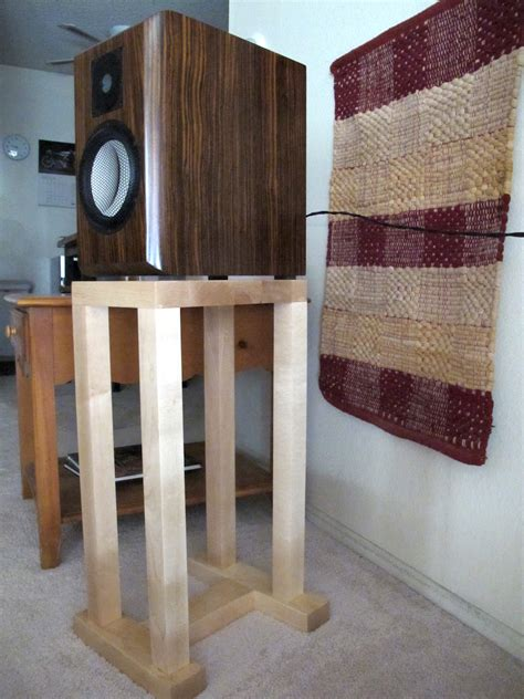 Made Stand custom made speaker stands at timber nation