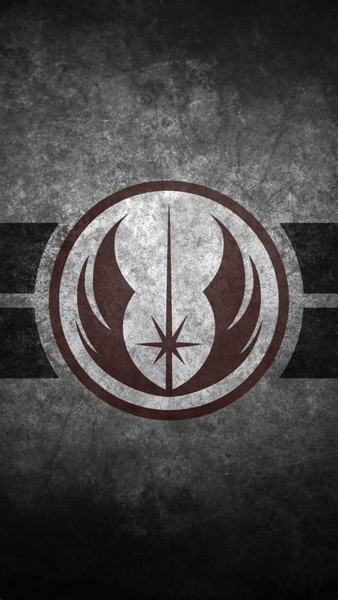 grey jedi wallpaper jedi order symbol cellphone wallpaper by swmand4 on deviantart