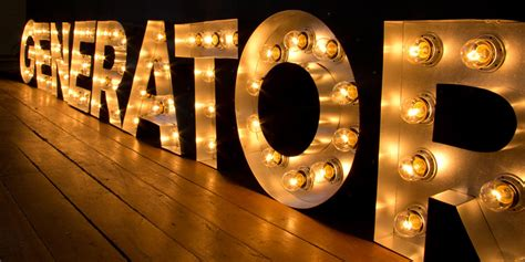 illuminated signs light up letters large marquee letters
