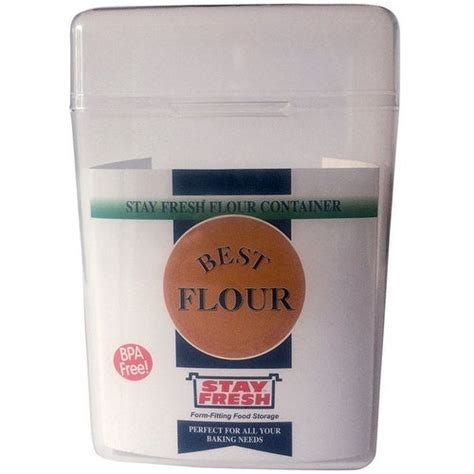 shop stay fresh  flour container  lbs