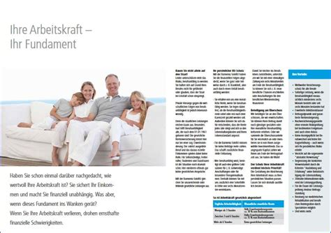 Janitos Motorradversicherung by Barmeniaprospektseite Zum Thema Berufsunf 228 Higkeitsversicherung
