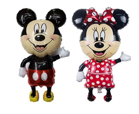Boneka Micky Mouseminnie Mouse Jumbo large 46inch 1pc mickey and minnie balloon mouse
