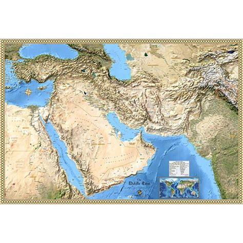 satellite map of middle east middle east maps beautiful wall maps of the mideast region