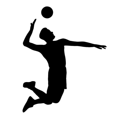 Selling Home Decor Products aliexpress com buy 12 5cm 15 8cm interesting volleyball sport player extreme jump ball hit