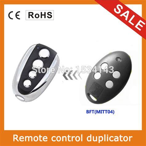 bft 433mhz rolling code remote for garage door