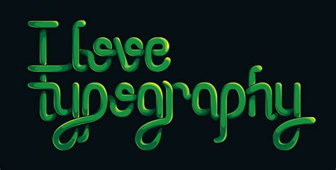 lettering vector tutorial how to create an entangled lettering illustration part 2