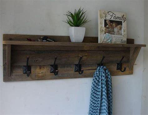 Coat Hanging Shelf by Best 25 Coat Rack With Shelf Ideas On