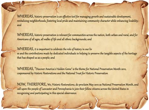 proclamation templates blank proclamation template images