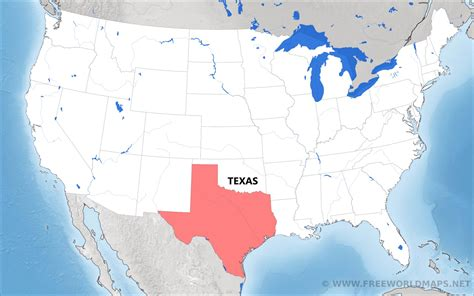 where is texas located on the map where is texas located on the map