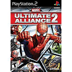 marvel ultimate alliance 2 sony playstation 2