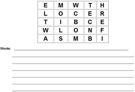 printable boggle word games printable boggle game