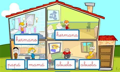 family house games spanish game online activities teach family and house vocabulary spanish playground
