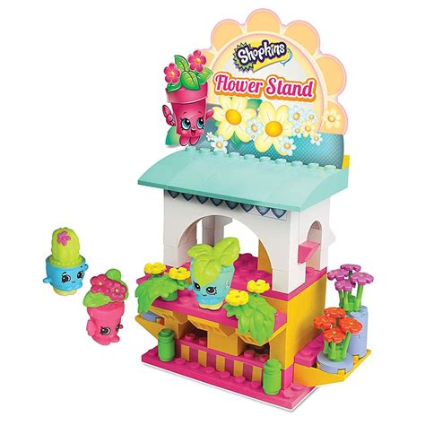 shopkins kinstructions flower stand