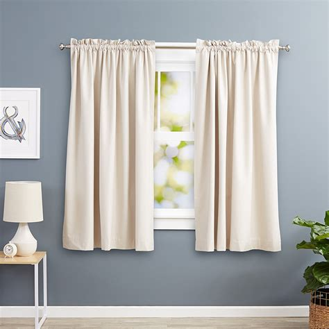 room blackout curtains beige blackout room darkening curtains ease bedding with