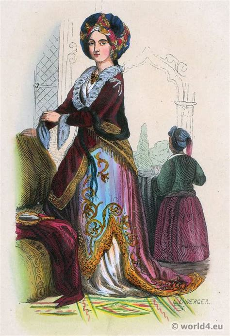 ottoman women peoples of the world european costumes costume history