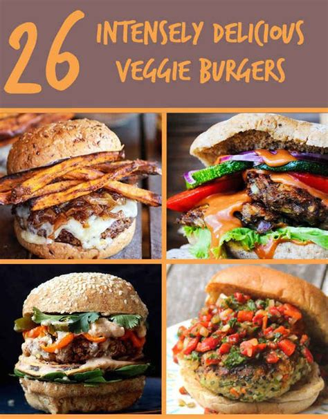 26 veggie burgers that will make meat question its very existence pinterest different types