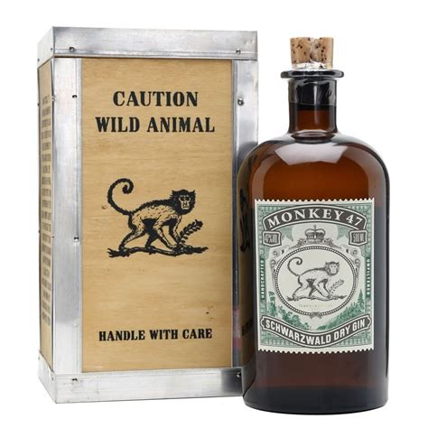 Special Edition Animal Cuts 42 Packs monkey 47 distillers cut gin 50cl gift box drinksupermarket