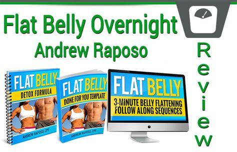 Flat Belly Overnight Detox Formula Recipe by Andrew Raposo S Flat Belly Overnight Review Does It Work