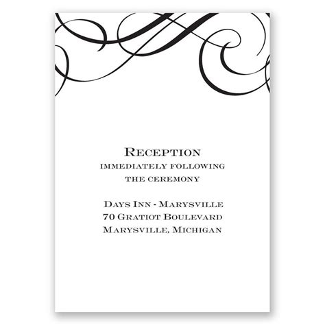 Special Wedding Invitation Card by Special Event Reception Card Invitations By