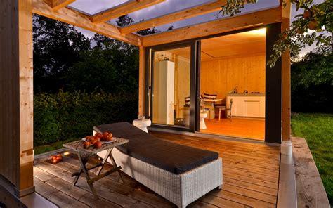 designer gartenhaus design gartenhaus mit sauna lifestyle und design