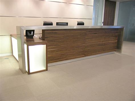 Stainless Steel Reception Desk Andrew Furniture