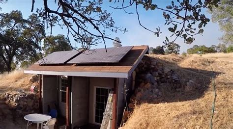 Small Retirement Home Plans an earth cooled underground shipping container home for