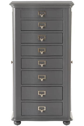 Black Circles Mirrored Doors Jewelry Armoire Jewelry Armoire With Mirror