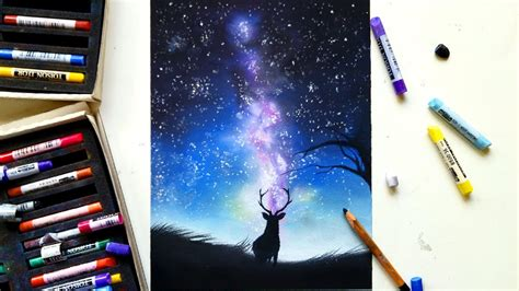 How To Draw The Way Galaxy Step By Step