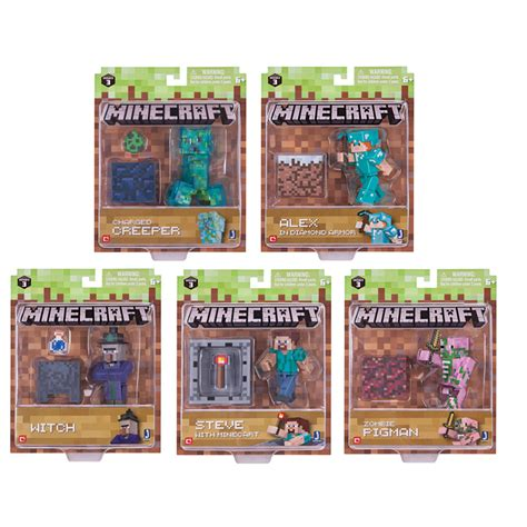 Series Toys by 3 Quot Figures Series 3 From Minecraft Wwsm