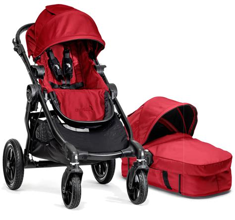 city select double stroller recline baby jogger 2014 city select stroller bassinet red