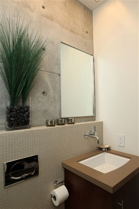 modern guest bathroom manhattan beach ultra modern guest bathroom remodel
