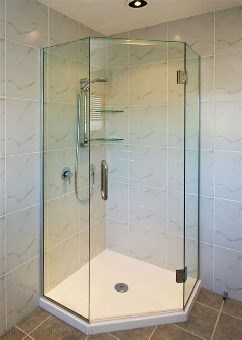 Corner Glass Shower Doors Frameless by Frameless Shower Doors Shower Solutions