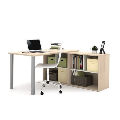 kathy ireland by bush new york skyline l shape desk with