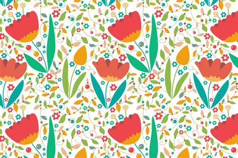 pattern background spring seamless pattern quot spring quot patterns on creative market