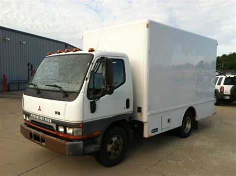 Hackney Plumbing Trucks by Purchase Used 2003 Mitsubishi Fuso Fe Hd 12 Foot Hackney Plumber In Goshen Indiana United