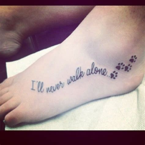 tattoo cat quotes 8 cute paw print tattoos more at http tattoo swag com 8