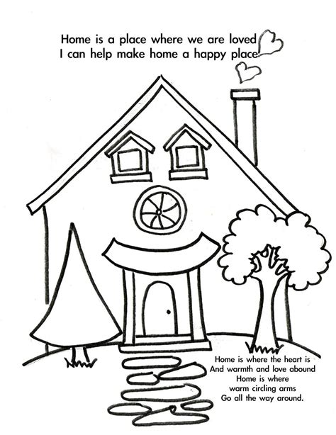 home coloring pages free welcome home coloring pages coloring home