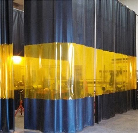 weld curtain industrial welding curtains akon curtain and dividers