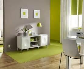 d 233 co salon peinture couleur taupe et vert anis