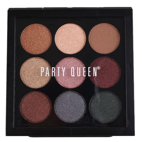 Eyeshadow X 9 Times Nine earth 9 colors pigment eyeshadow palette cosmetic makeup eye shadow colorful ebay