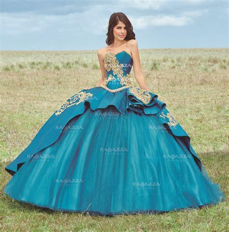 Rafazza Dress beaded strapless quinceanera dress by ragazza fashion