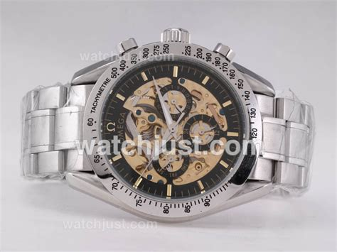Omega Skeleton Automatic replica moonwatch omega the cheap replica watches