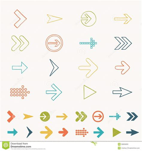 doodle sign in arrow sign icon set doodle draw vector illustration