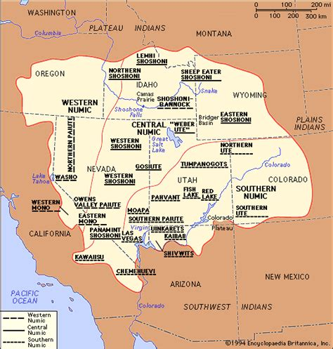 great basin american map peoples of america map of great basin