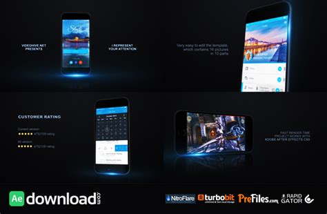 mobile app promo kit videohive project free download